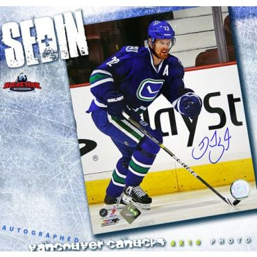 Daniel Sedin Vancouver Canucks Autographed 8 x 10 Photo