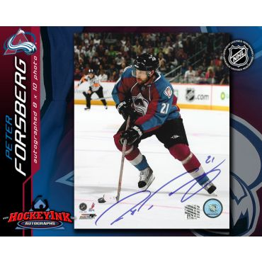Peter Forsberg Colorado Avalanche 8 x 10 Autographed Photo