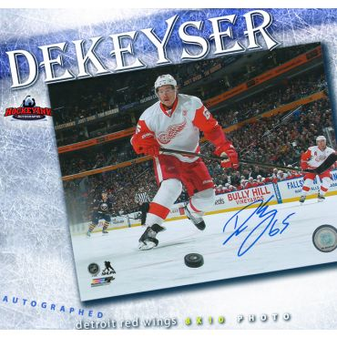 Danny DeKeyser Detroit Red Wings Autographed 8 x 10 Photo