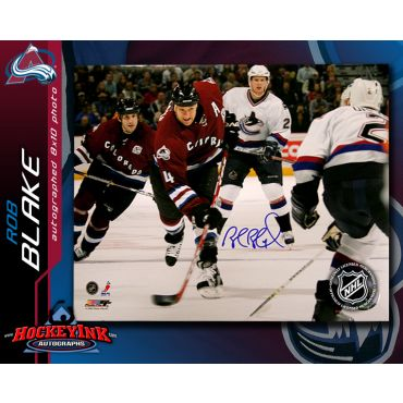 Rob Blake Colorado Avalanche 8 x 10 Autographed Photo