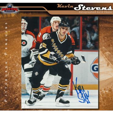 Kevin Stevens Pittsburgh Penguins Autographed 8 x 10 Photo