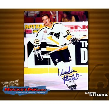 Martin Strka Pittsburgh Penguins Autographed 8 x 10 Photo