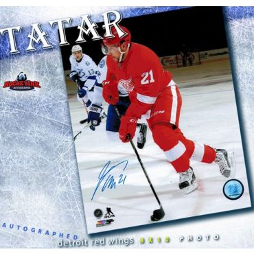 Tomas Tatar Detroit Red Wings 8 x 10 Autographed Photo