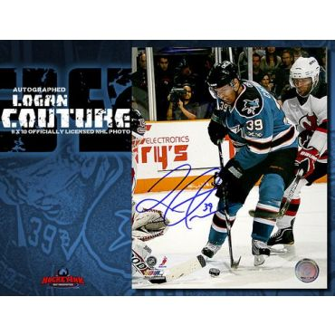 Logan Couture San Jose Sharks 8 x 10 Autographed Photo