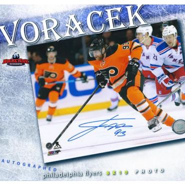 Jakub Voracek Philadelphia Flyers Autographed 8 x 10 Photo