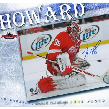 Jimmy Howard Detroit Red Wings Autographed 8 x 10 Photo