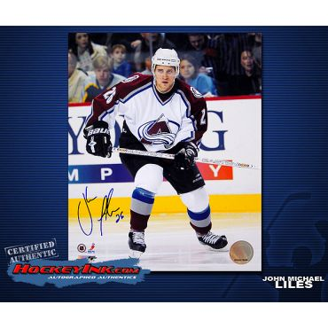 John Michael Liles Colorado Avalanche 8 x 10 Autographed Photo