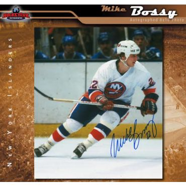 Mike Bossy New York Islanders 8 x 10 Autographed Photo