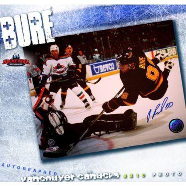 Pavel Bure Vancouver Canucks 8 x 10 Autographed Photo