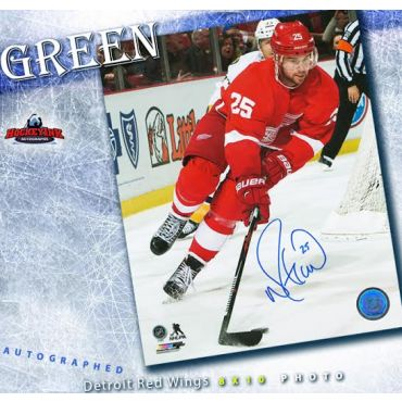 Mike Green Detroit Red Wings 8 x 10 Autographed Photo