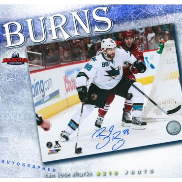 Brent Burns San Jose Sharks Autographed 8 x 10 Photo