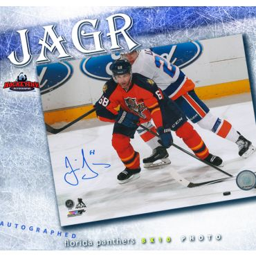 Jaromir Jagr Florida Panthers Autographed 8 x 10 Photo
