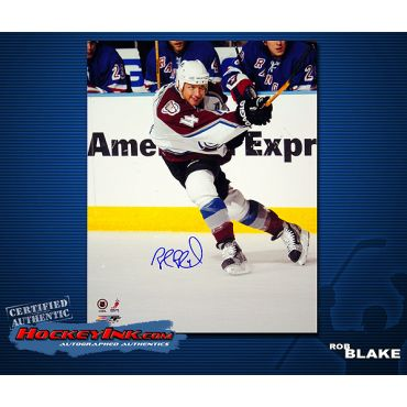 Robert Blake Colorado Avalanche 8 x 10 Autographed Photo