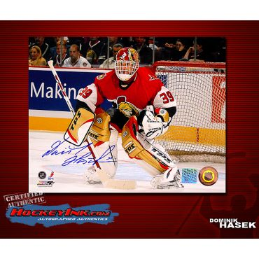 Dominik Hasek Ottowa Senators 8 x 10 Autographed Photo