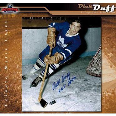 Dick Duff Toronto Maple Leafs 8 x 10 Autographed Photo