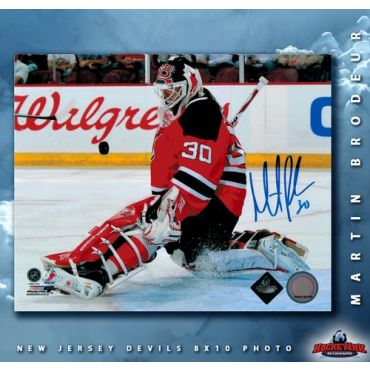 Martin Brodeur New Jersey Devils Autographed 8 x 10 Photo