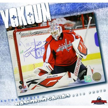 Tomas Vokoun Washington Capitals 8 x 10 Autographed Photo