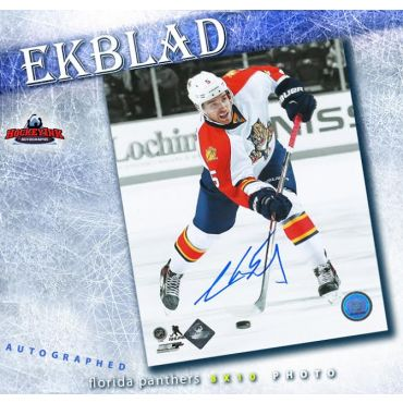 Aaron Ekblad Florida Panthers 8 x 10 Autographed Photo