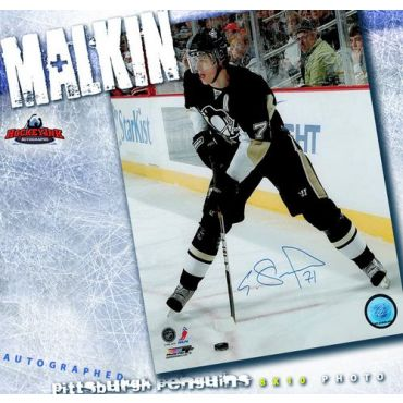 Evgeni Malkin Autographed Pittsburgh Penguins 8 x 10 Photo