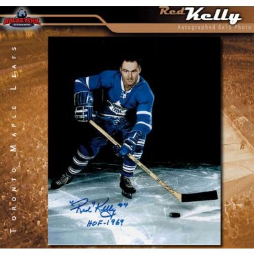 Red Kelly Toronto Maple Leafs 8 x 10 Autographed Photo