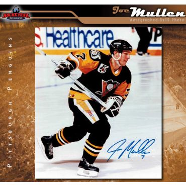Joe Mullen Pittsburgh Penguins Autographed 8 x 10 Photo