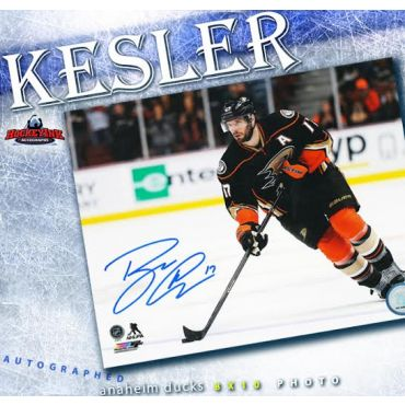 Ryan Kesler Anaheim Ducks 8 x 10 Autographed Photo