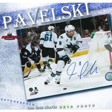 Joe Pavelski San Jose Sharks Autographed 8 x 10 Photo