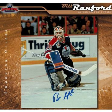 Bill Ranford Edmonton Oilers 8 x 10 Autographed Photo