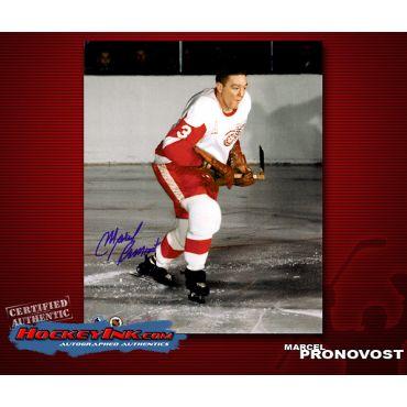 Marcel Pronovost Detroit Red Wings 8 x 10 Autographed Photo