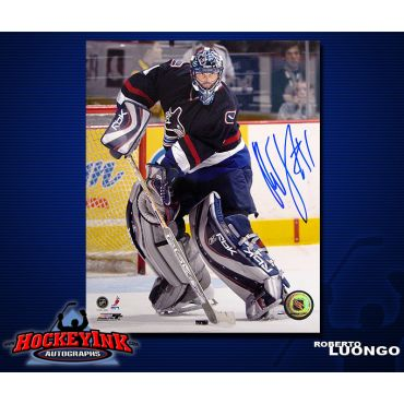 Roberto Luongo Vancouver Canucks 8 x 10 Autographed Photo