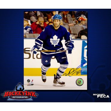 Michael Peca Toronto Maple Leafs 8 x 10 Autographed Photo