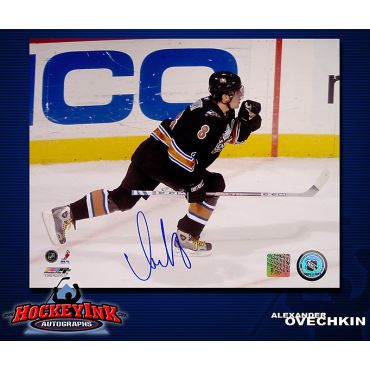 Alexander Ovechkin Washington Capitals 8 x 10 Autographed Photo