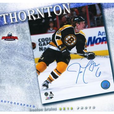 Joe Thornton Boston Bruins Autographed 8 x 10 Photo