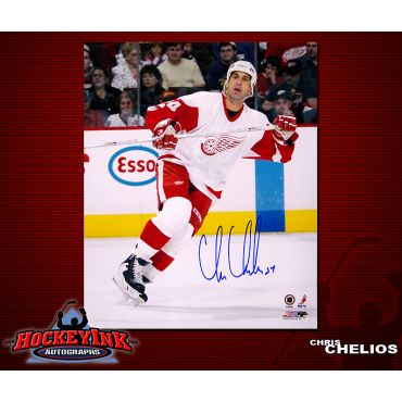 Chris Chelios Detroit Red Wings 8 x 10 Autographed Photo