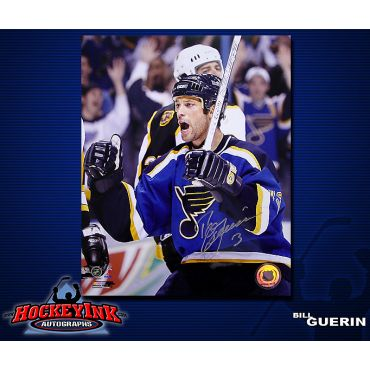 Bill Guerin St. Louis Blues 8 x 10 Autographed Photo