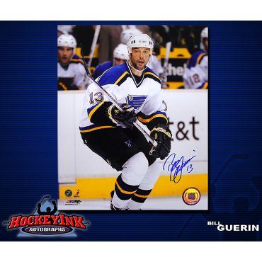 Bill Guerin St. Louis Blues 8 x 10 Autographed Photo