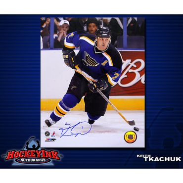 Keith Tkachuk St. Louis Blues 8 x 10 Autographed Photo