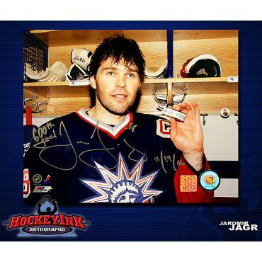 Jaromir Jagr 600th Goal 8 x 10 Autographed Photo