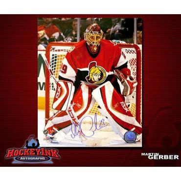 Martin Gerber Ottawa Senators 8 x 10 Autographed Photo