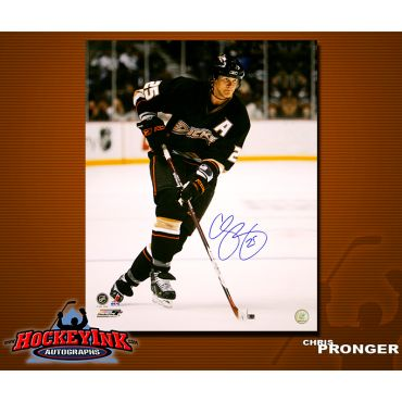 Chris Pronger Anaheim Ducks 8 x 10 Autographed Photo