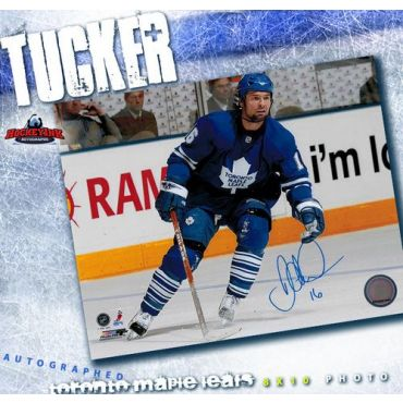 Darcy Tucker Toronto Maple Leafs Autographed 8 x 10 Photo