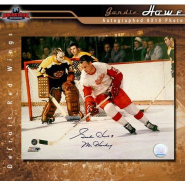 Gordie Howe Detroit Red Wings 8 x 10 Autographed Photo