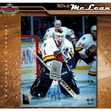 Kirk McLean Vancouver Canucks 8 x 10 Autographed Photo