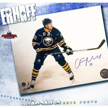 Christian Erhoff Buffalo Sabres 8 x 10 Autographed Photo