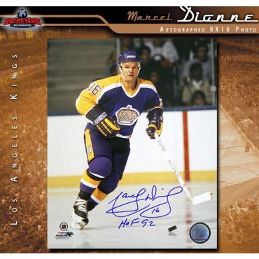 Marcel Dionne Los Angeles Kings 8 x 10 Autographed Photo