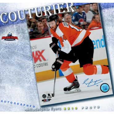 Sean Couturier Philadelphia Flyers 8 x 10 Autographed Photo