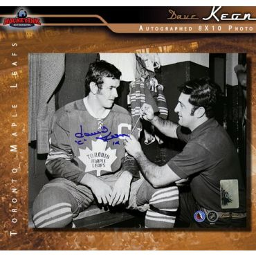 Dave Keon Toronto Maple Leafs Autographed 8 x 10 Photo