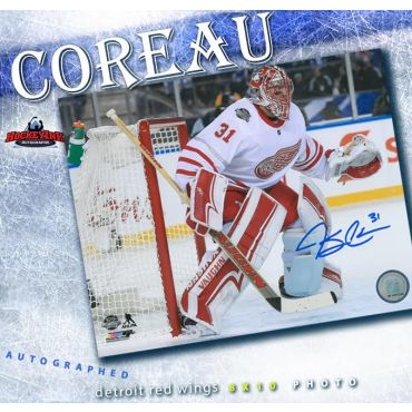 Jared Coreau Detroit Red Wings 2017 Centennial Classic Autographed 8 x 10 Photo