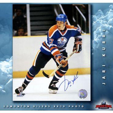 Jarri Kurri Edmonton Oilers Autographed 8 x 10 Photo
