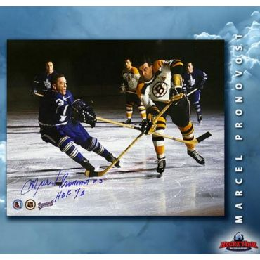 Marcel Pronovost Toronto Maple Leafs Autographed 8 x 10 Photo
